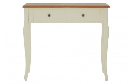 Summer Console Table MDF / Ash & Paulownia Veneer 2 Drawers
