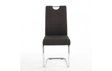 Talia Handle Back Charcoal Dining Chair