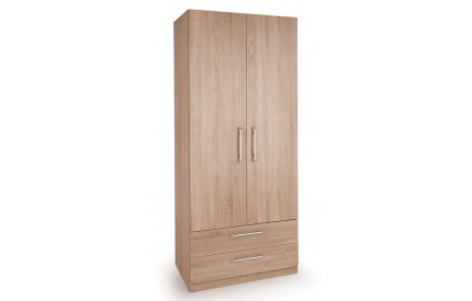 Osborn 2 Door 2 Drawer Wardrobe