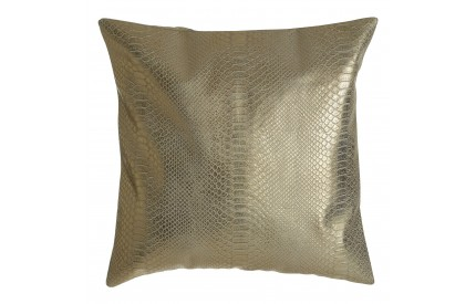 Buckingham Townhouse Cushion Snake Skin Effect / Gold Cotton Mix
