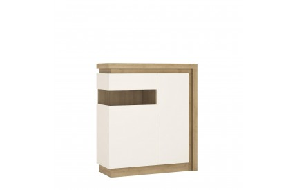 Lyon 2 Door Cabinet (LH) White Gloss