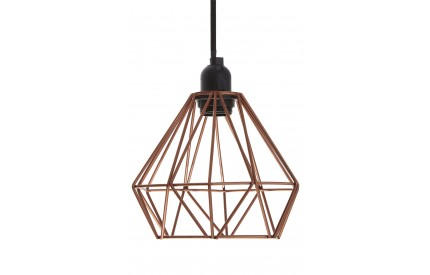 Bartol Pendant Light Metal Wire Copper