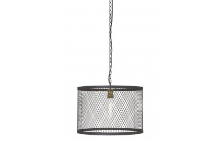 Indigo Pendant Light Black iron / Wire