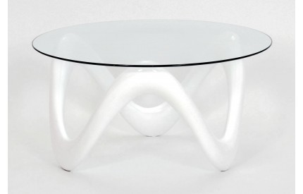 Emerald Coffee Table White