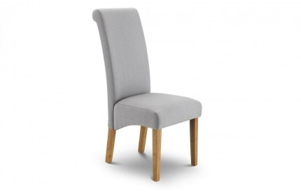 Rio Scrollback Fabric Chair Assembled