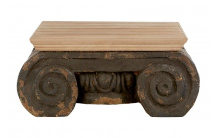 Pompeii Coffee Table Ornate Cement Look