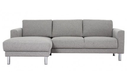Cleveland Chaiselongue Sofa (LH) in Nova Light Grey