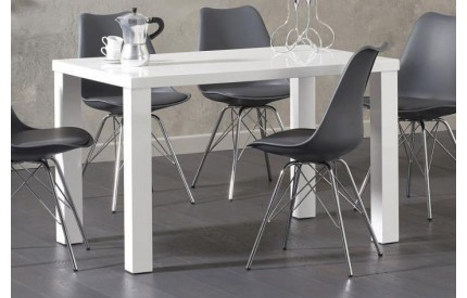 Czech Dining Table High Gloss White