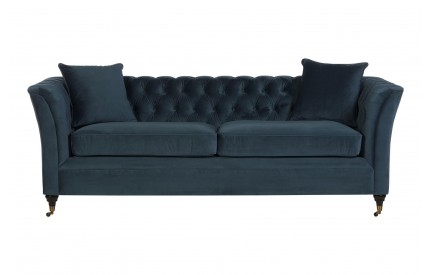 Sabrina 3 Seat Sofa Viola Midnight Finish
