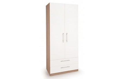 Lye 2 Door 2 Drawer Wardrobe