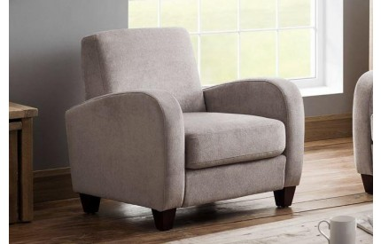 Vivo Chair In Mink Chenille Fabric