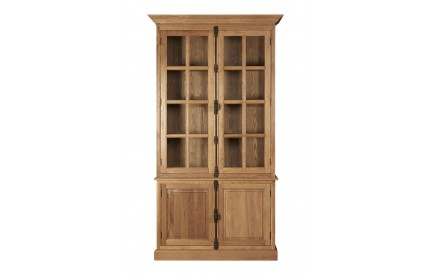 Martins Cabinet New Weathered American Oak 3 Upper Shelves