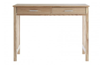Helda Ash Console Table 2 Drawers