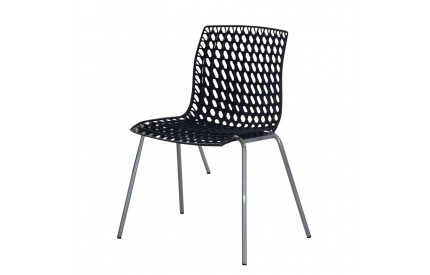 Mesh Plastic Dining Chair