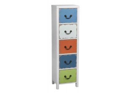 Monarchy Multi Coloured Chest of Drawers