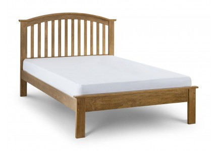 Olivia Bed Oak Finish