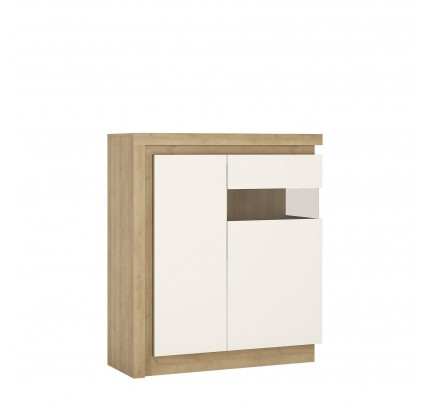 Lyon 2 Door Cabinet  (RH) White Gloss