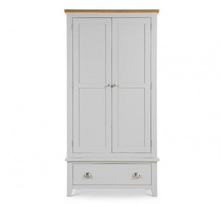 Richmond New 2 Door Combination Wardrobe Grey