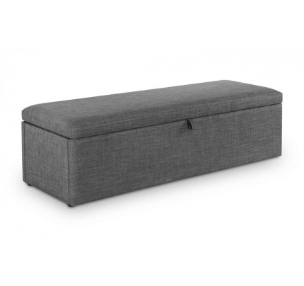 Sorrento Blanket Box Slate Linen