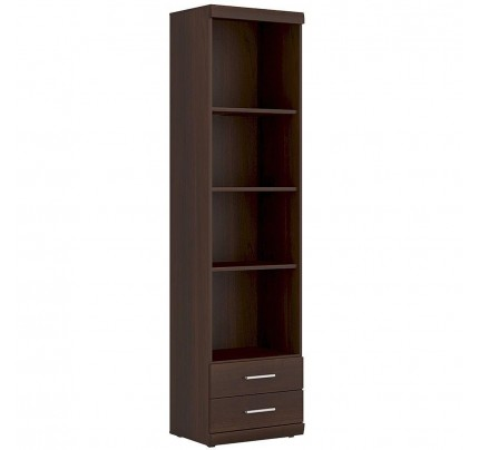 Imperial Tall 2 Drawer Narrow Cabinet Mahogany