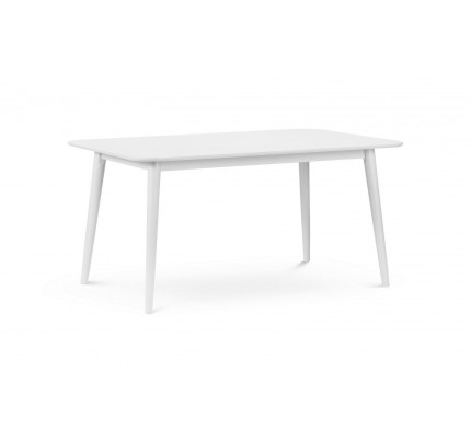 Torino White Dining Table