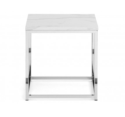 Scala Marble Top Lamp Table