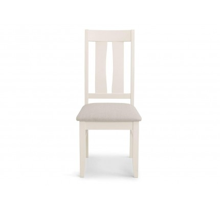 Pembroke Dining Chair White Assembled