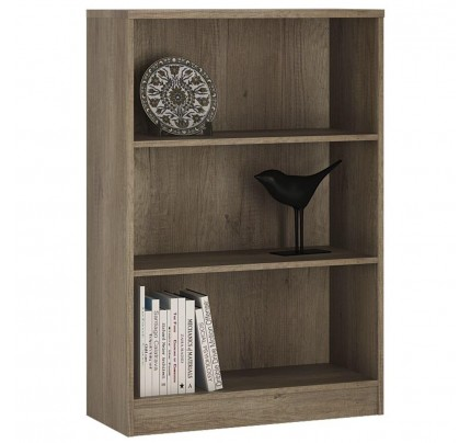 4 You Medium Wide Bookcase in Canyon Grey