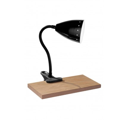 Flexi Desk Lamp Clip Black