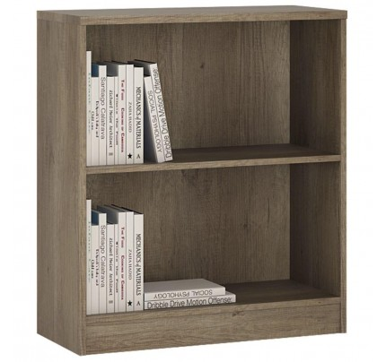 4 You Low Wide Bookcase in Canyon Grey
