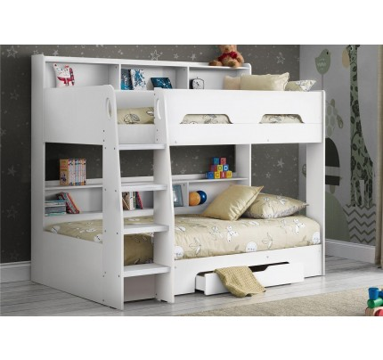 Orion Pure White Bunkbed