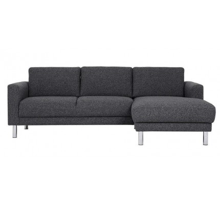 Cleveland Chaiselongue Sofa (RH) in Nova Antracit