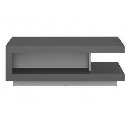 Lyon Designer Coffee Table Grey Gloss