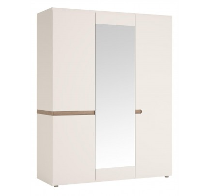 Chelsea 3 Door Wardrobe Mirror