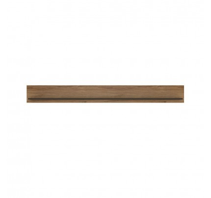 Brolo Wall Shelf 197cm Walnut
