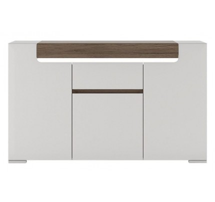Toronto 3 Door 1 Drawer Sideboard