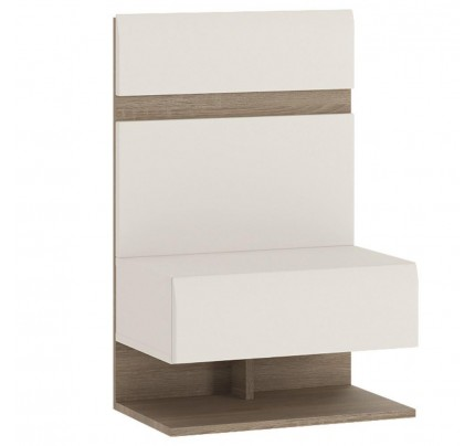 Chelsea Bedroom Bedside Extension White