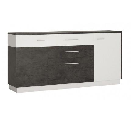 Zingaro 2 Door 2 Drawer Sideboard