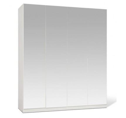 Shino Full Mirror 4 Door Wardrobe