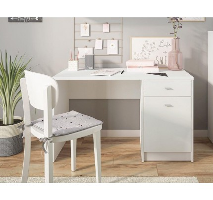 4 You Desk Pearl White