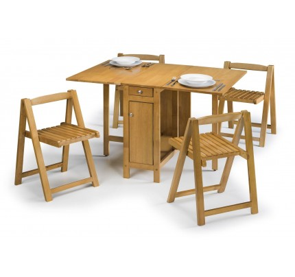 Julian Bowen Savoy Dining Set - Light Oak