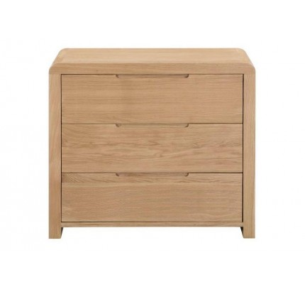Curve 3 Drawer Chest of Drawers