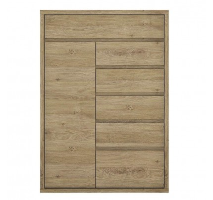Shetland 1 Door 6 Drawer Sideboard