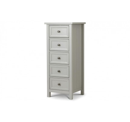 Maine 5 Drawer Tall Chest of Drawers