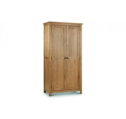 Marlborough 2 Door Wardrobe - Solid Oak