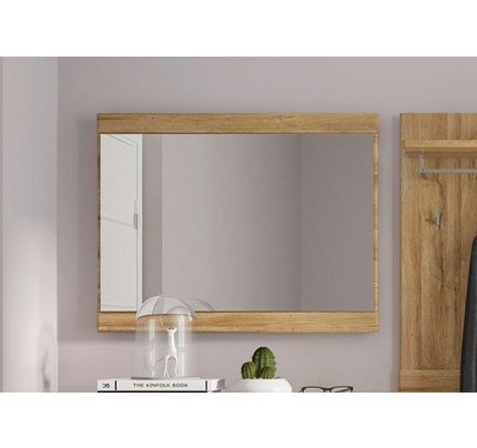 Cortina Mirror 95cm Grandson Oak