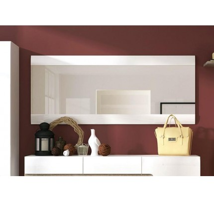 Chelsea Wall Mirror 164cm White Gloss