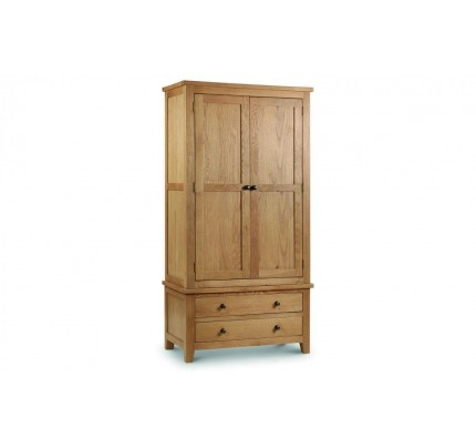 Marlborough Combination Wardrobe - Solid Oak