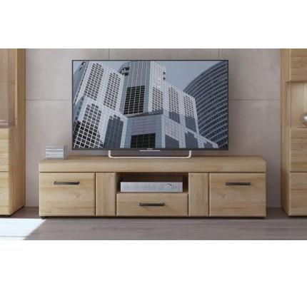 Cortina 2 door 1 Drawer Wide TV Cabinet Grandson Oak