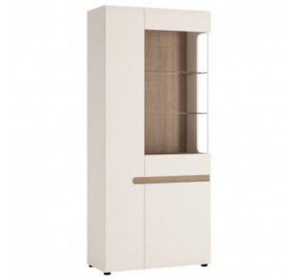 Chelsea Living Tall Glazed Wide Display (LH)